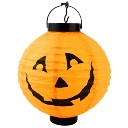 Halloween Prop Lighting Paper Lantern Pumpkin Light